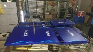 不锈钢铝板烤漆标牌案例(五)